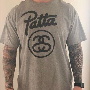 Stussy x Patta Collab T shirt